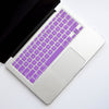Silicone Keyboard Cover- Purple - Embrishop  - 1
