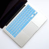 Silicone Keyboard Cover- Light Blue - Embrishop  - 1