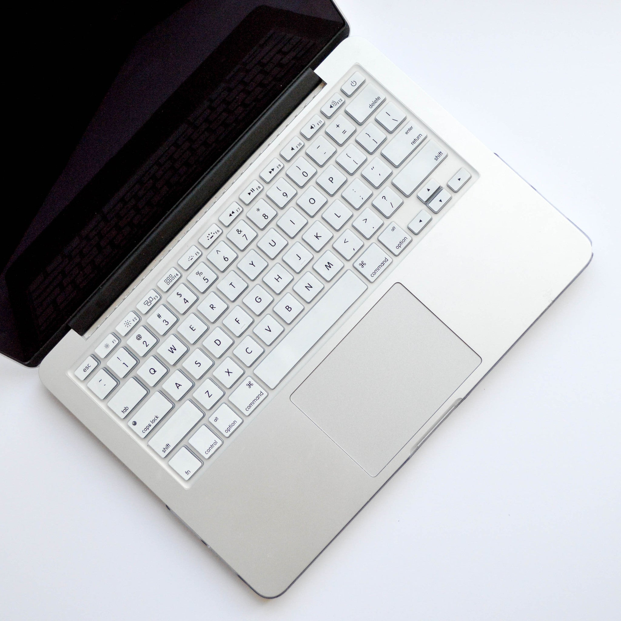 Silicone Keyboard Cover- White - Embrishop  - 1