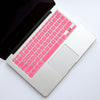 Silicone Keyboard Cover- Pink - Embrishop  - 1