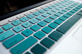 Ombré Keyboard Cover- Green - Embrishop  - 2