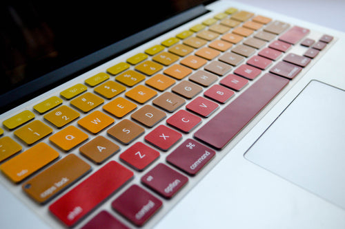 Ombré Keyboard Cover- Fire - Embrishop - 2
