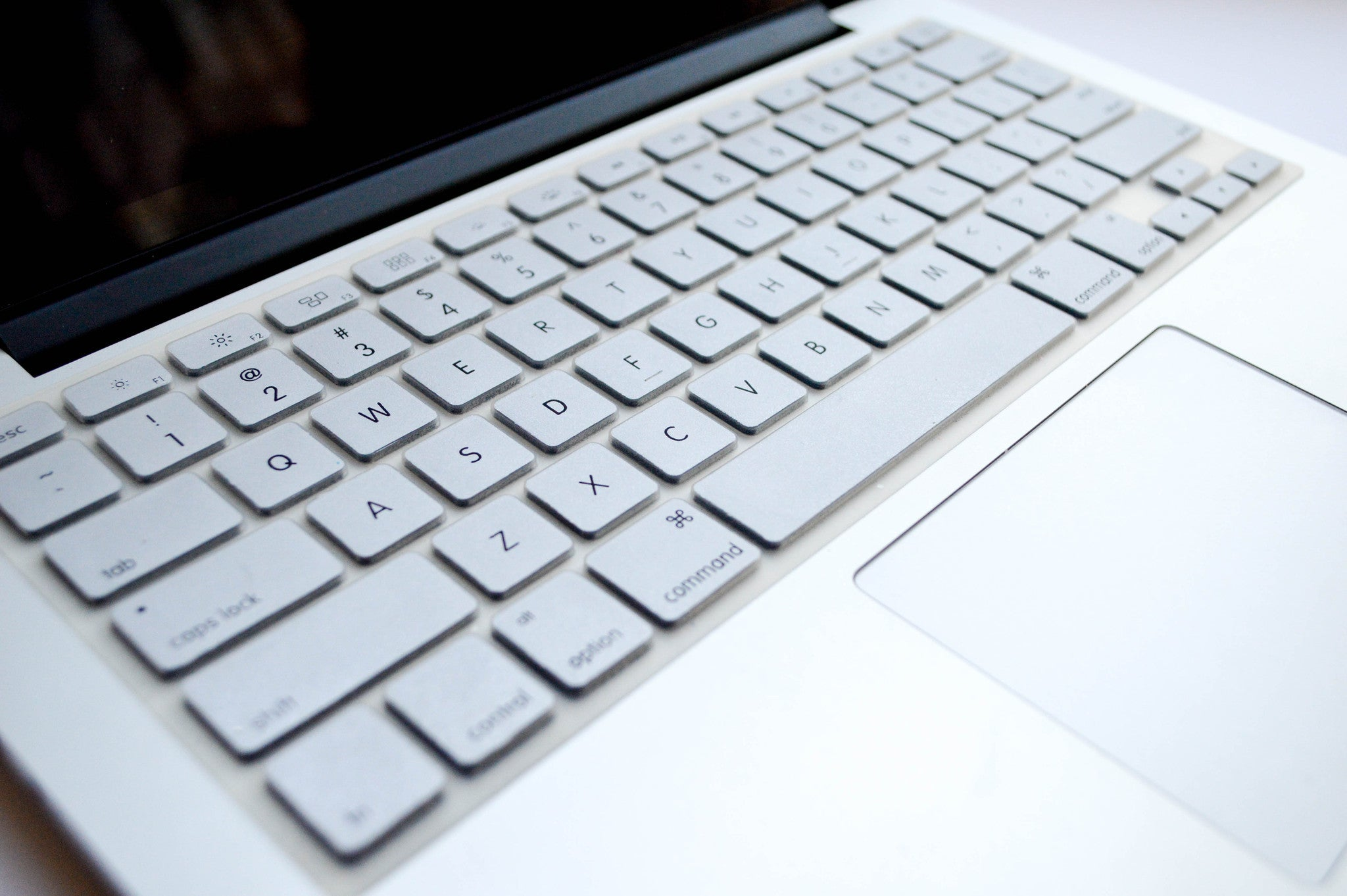 Silicone Keyboard Cover- Silver - Embrishop  - 2