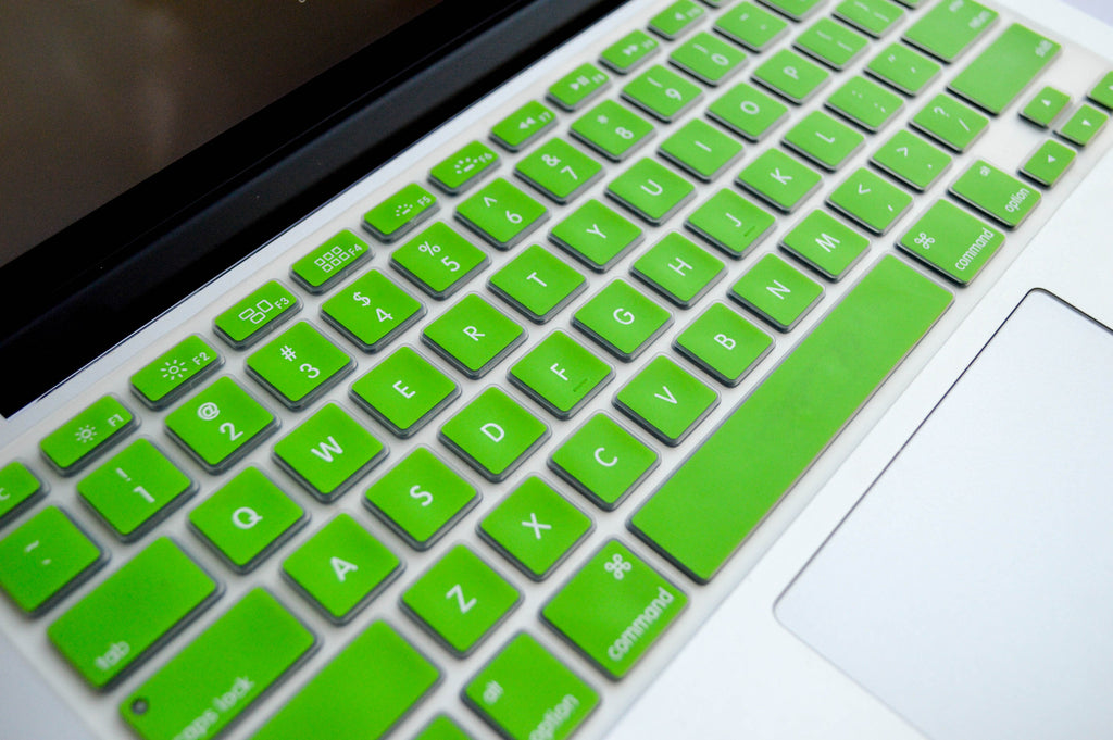 Silicone Keyboard Cover- Lime Green - Embrishop  - 2