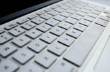 Silicone Keyboard Cover- White - Embrishop  - 2