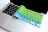 Ombré Keyboard Cover- Blue/ Green | Embrishop.com