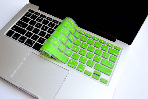 Silicone Keyboard Cover- Lime Green - Embrishop  - 3