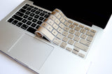 Silicone Keyboard Cover- Gold - Embrishop  - 3