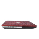 Ruby Red Glitter MacBook Case