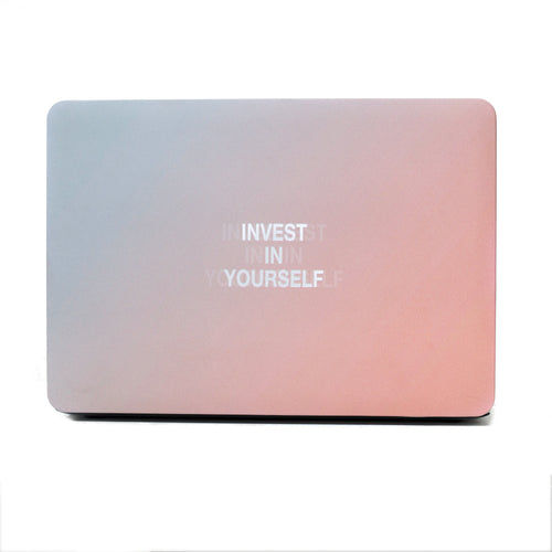 INVEST IN YOURSELF MacBook Case