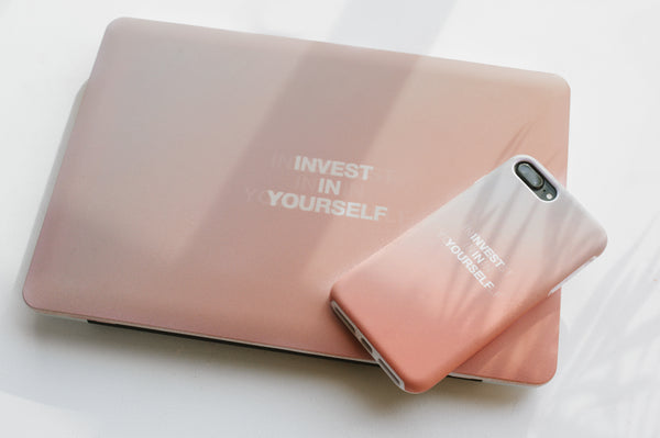 INVEST IN YOURSELF iPhone Case