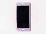 Glitter iPhone Wrap- Silver - Embrishop  - 2
