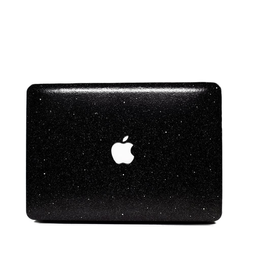 Black Glitter Macbook Case | Embrishop.com
