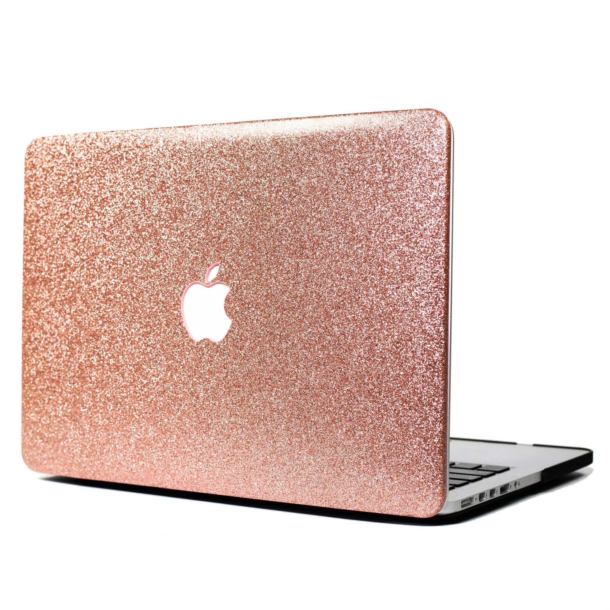 Rose Gold Glitter Macbook Case- Embri Shop