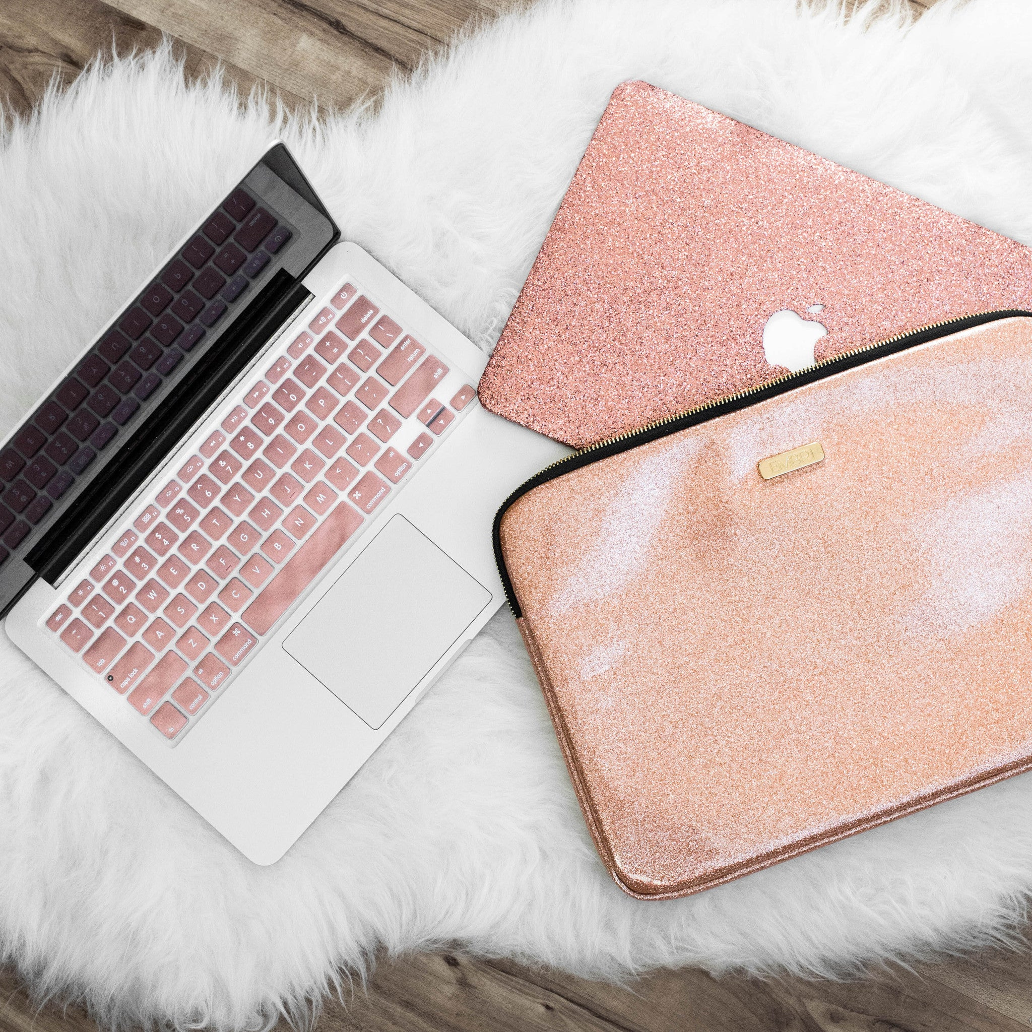 Silicone Keyboard Cover- Rose Gold - Embrishop  - 4