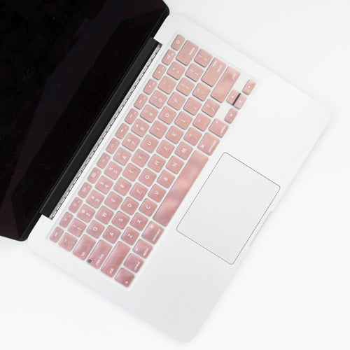 Silicone Keyboard Cover- Rose Gold - Embrishop  - 1