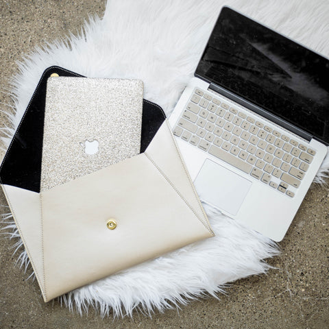 Rose Gold Macbook Case Bundle