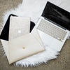 Champagne Gold Glitter Macbook Case Bundle | Embrishop.com