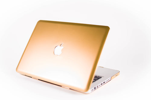Matte Macbook Case- Gold - Embrishop  - 1