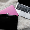 Black and Pink Macbook Case Bundle | Embrishop.com