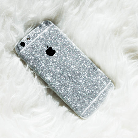 Gold Glitter iPhone Skin