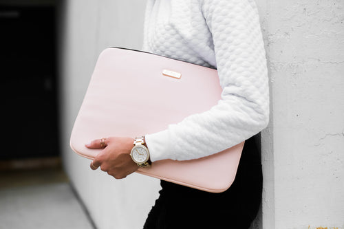 "Blush Pink 13"" Laptop Bag 