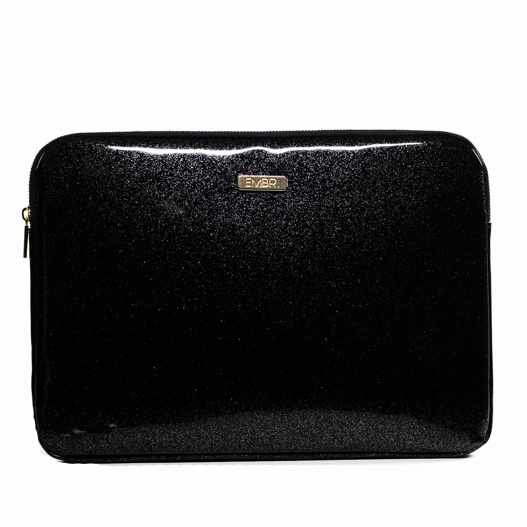 Black Glitter Laptop Bag | Embrishop.com
