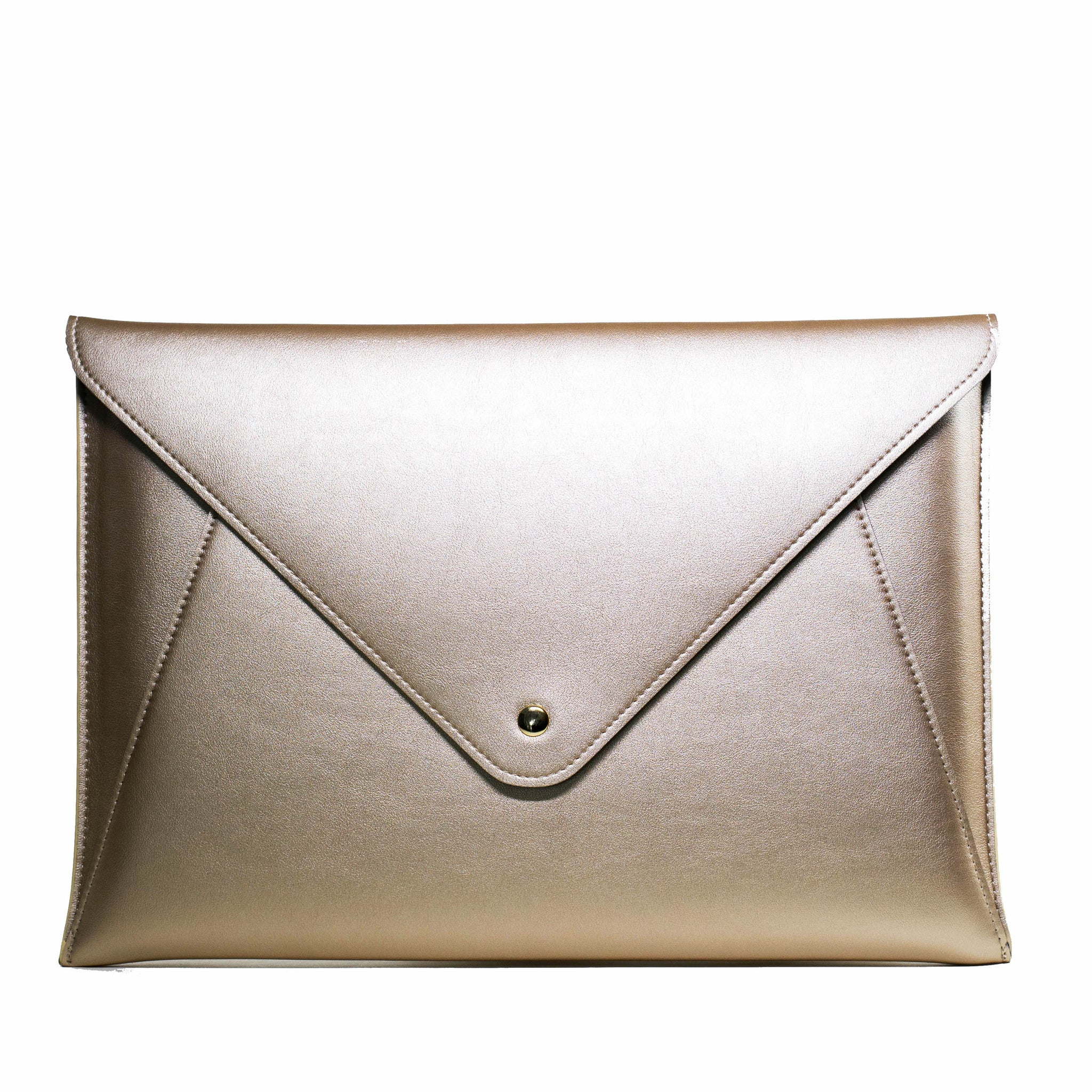 Matte Gold Envelope Laptop Bag  | Embrishop.com