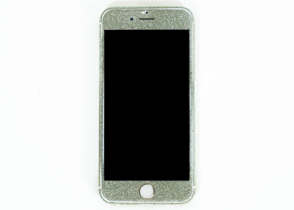 Glitter iPhone Wrap- Green - Embrishop  - 2