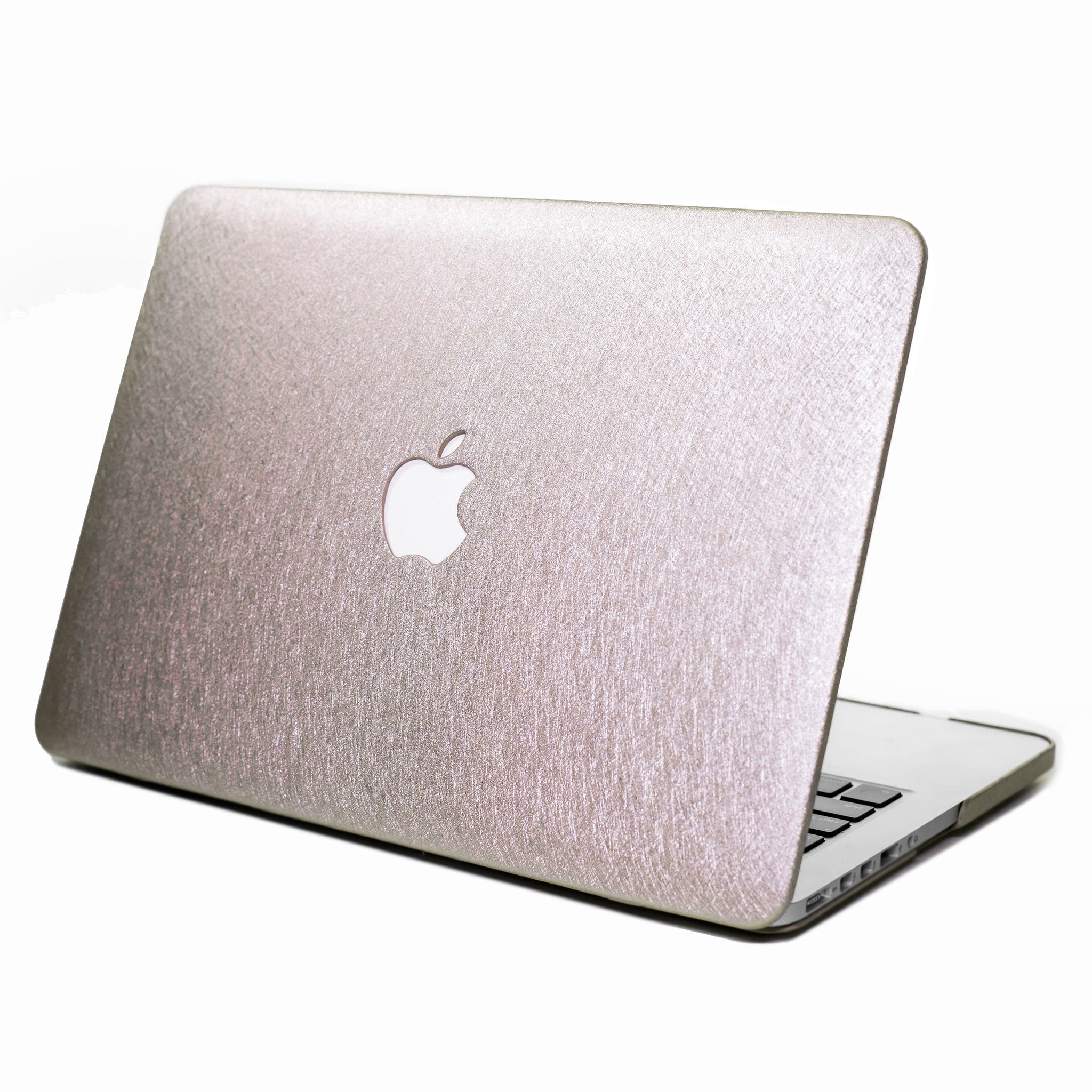 Silk Macbook Case- Light Gold - Embrishop  - 1