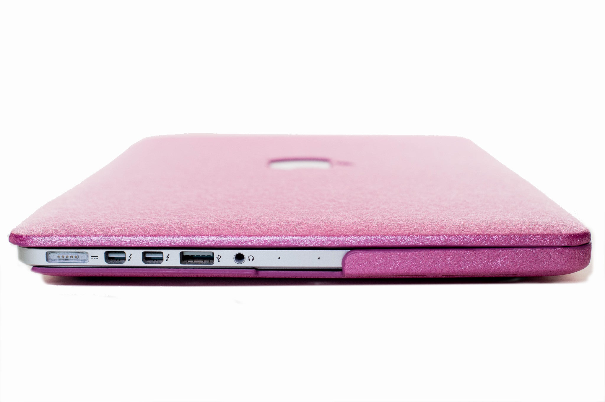 Silk Macbook Case- Barbie Pink - Embrishop  - 3