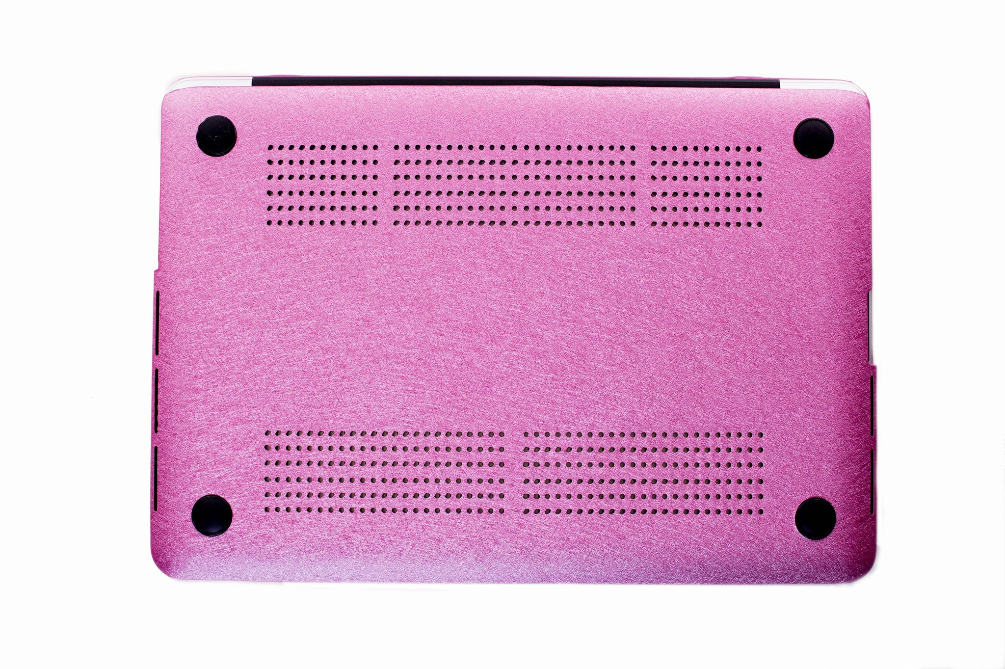 Silk Macbook Case- Barbie Pink - Embrishop  - 4