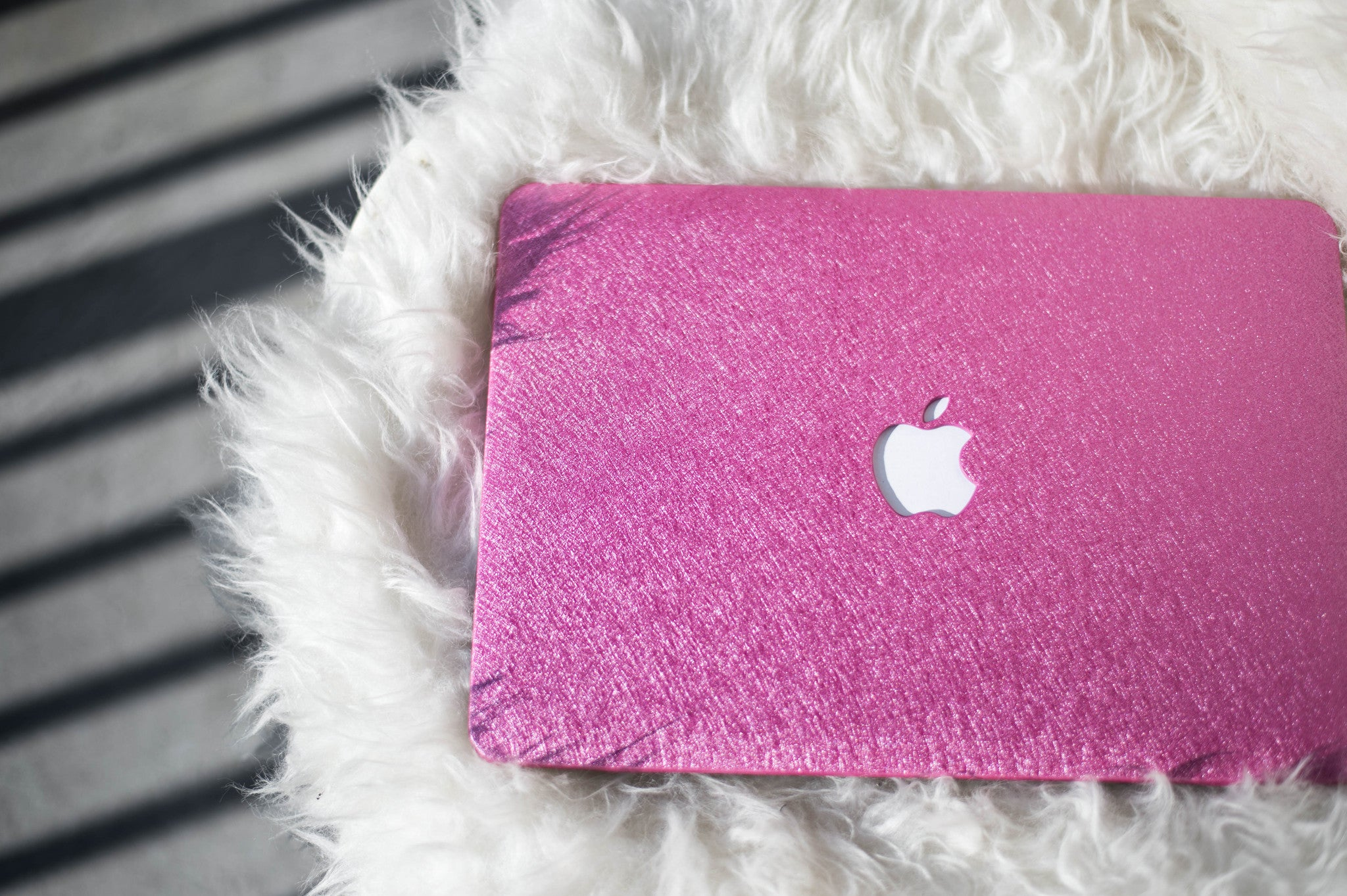 Silk Macbook Case- Barbie Pink - Embrishop  - 2