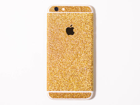 Rose Gold Glitter iPhone Skin