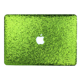 Kelly Green Glitter MacBook Case