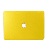Yellow Silk MacBook Case