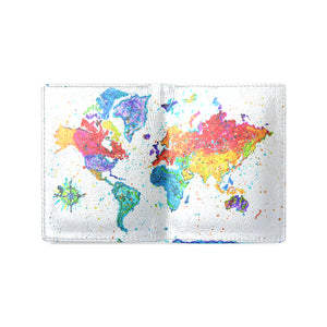 World Map 1 Men's Wallet