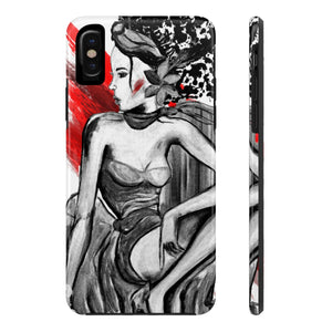 Fashion Red Tough Phone Cases
