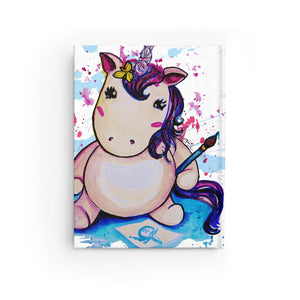 Baby Unicorn Journal - Ruled Line