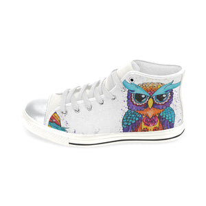 Owl High Top Canvas Shoes
