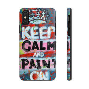 Paint On Tough Phone Cases