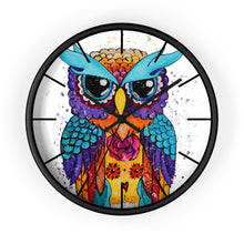 Load image into Gallery viewer, Owl Wall clock