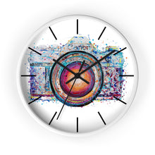 Load image into Gallery viewer, Camera Wall clock