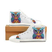 Load image into Gallery viewer, Owl High Top Canvas Shoes