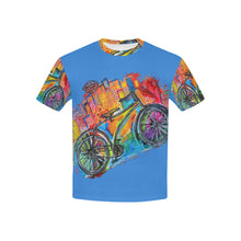 Load image into Gallery viewer, Bicycle Kid T-Shirt