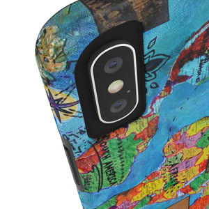 World Map 1 Phone Case