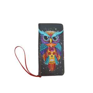 Owl Clutch Wallet