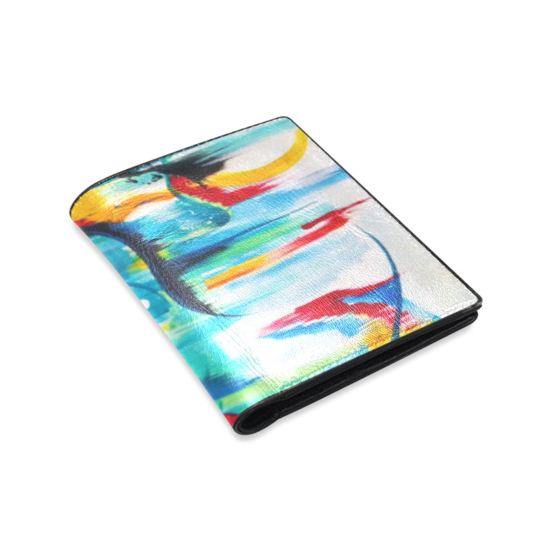 Abstract 2 Men's Wallet