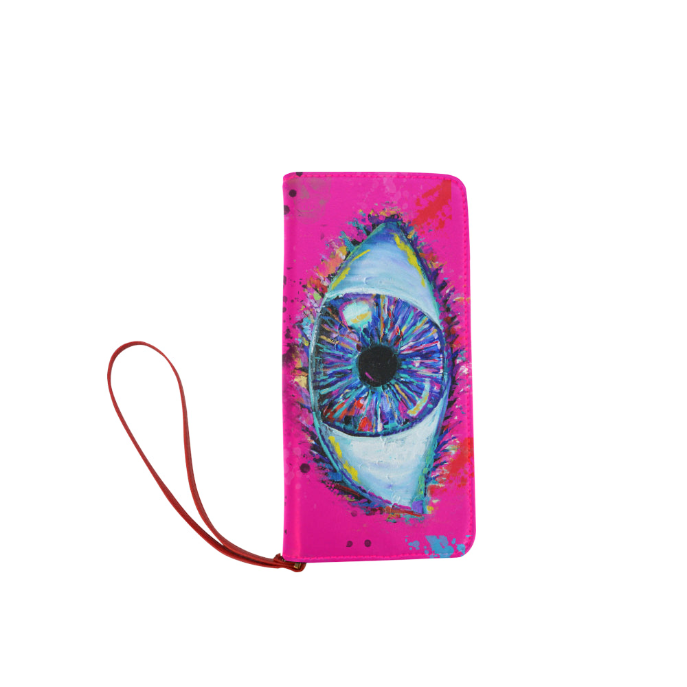 The Eye Clutch Wallet