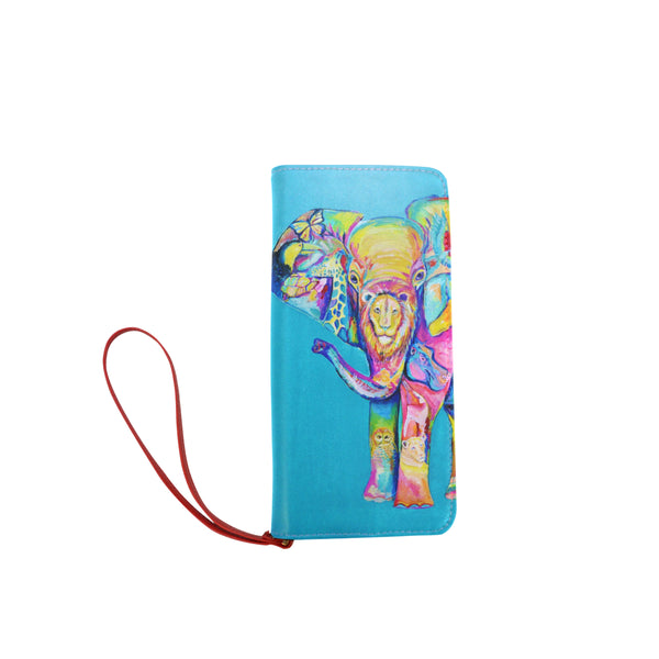 Elephant Clutch Wallet